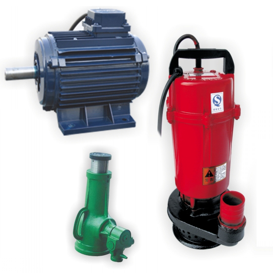 Water paint for motor, water pump and equipment